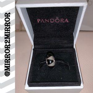 ♣️Pandora Black and White Diamond Murano